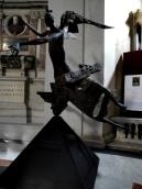 Ange de Lumière juste à côté (église Sainte Marie des Anges et Martyr à Rome)