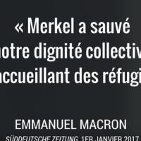 Migrants : Emmanuel Macron (déjà) dans les pas de George Soros