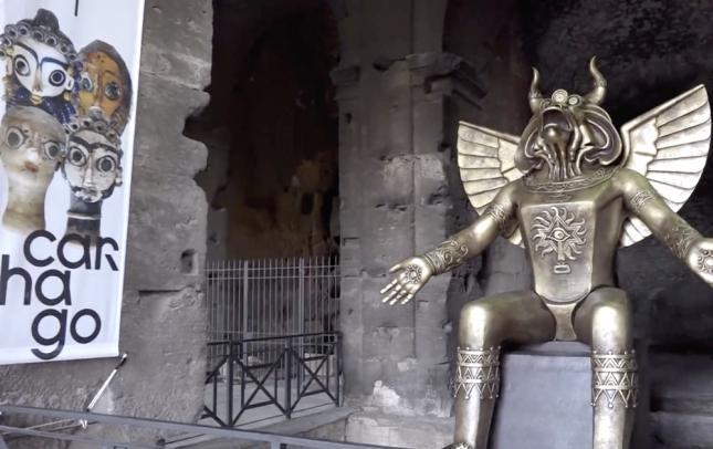 statue-de-moloch-a-rome