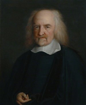 NPG 225; Thomas Hobbes by John Michael Wright