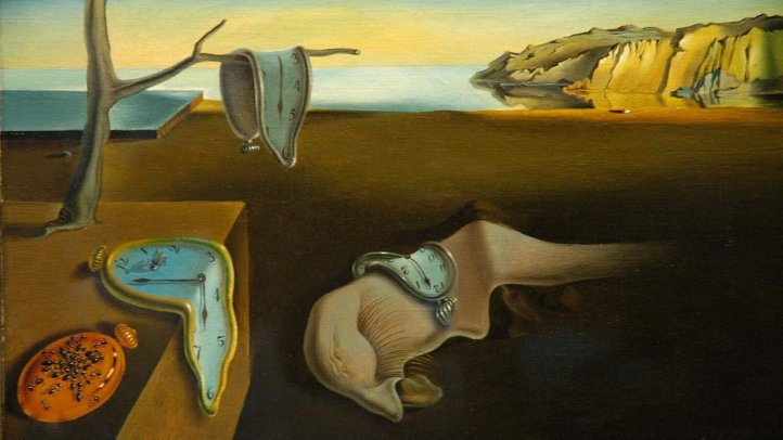 the-persistence-of-memory-canvas-collection-salvador-1931